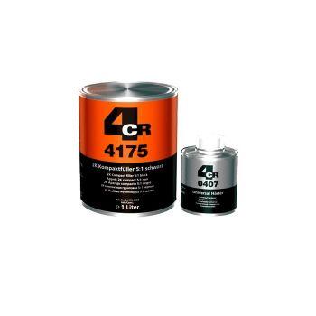 Plnič 4CR kompaktný 2K 4175 čierny + tužidlo 0407-2