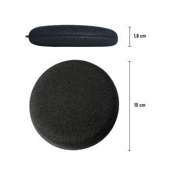 Špongia aplikátor čierny