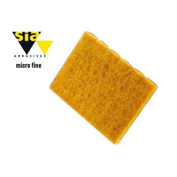 Brúsne rúno vlies SIA žlté micro fine