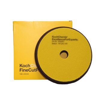 Fine Cut Žltý Ø126mm leštiaci kotúč Koch Chemie
