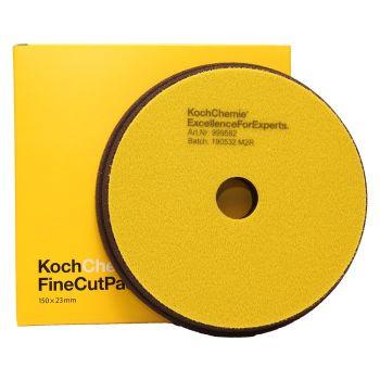 Fine Cut Žltý Ø150mm leštiaci kotúč Koch Chemie