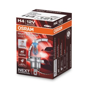 H4 Night Braker Laser +150% 1ks OSRAM