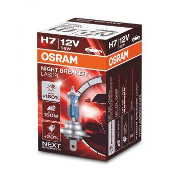 H7 Night Braker Laser +150% 1ks OSRAM