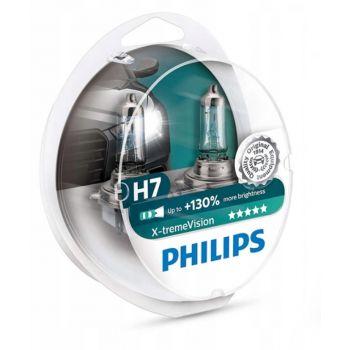H7 X-tremeVision +130% sada PHILIPS