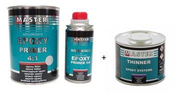 Epoxidový základ MASTER s tužidlom a riedidlom