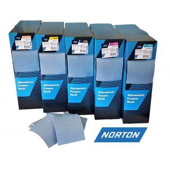 NORTON Rotolo Foam brúsny papier P400 na pene Rolka 25 m