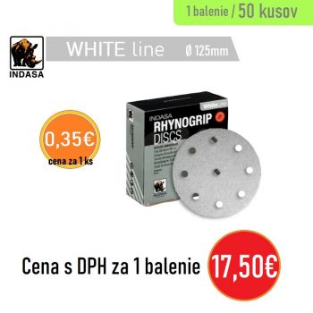 Brúsny disk INDASA 9H 50ks