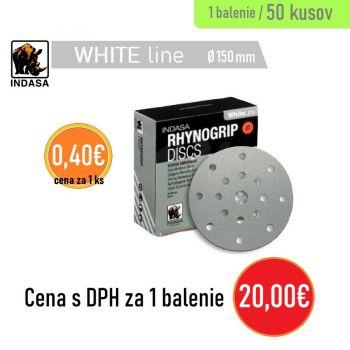 Brúsny disk INDASA 17H 50ks 150mm