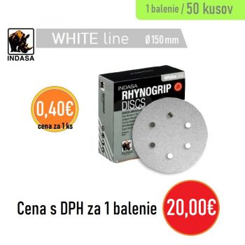 Brúsny disk INDASA 6H 50ks 150mm