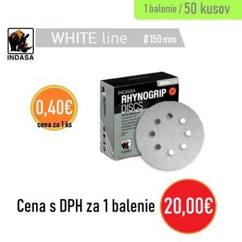 Brúsny disk INDASA 8H 50ks 150mm