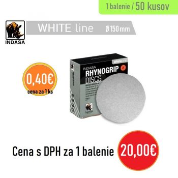 Brúsny disk INDASA 0H 50ks 150mm