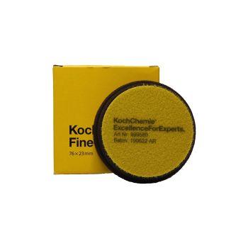 Fine Cut Žltý Ø76mm leštiaci kotúč Koch Chemie