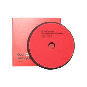 Heavy Cut Červený Ø126mm leštiaci kotúč Koch Chemie