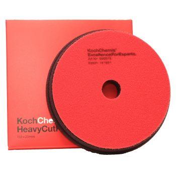 Heavy Cut Červený Ø150mm leštiaci kotúč Koch Chemie
