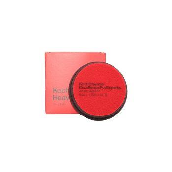 Heavy Cut Červený Ø76mm leštiaci kotúč Koch Chemie