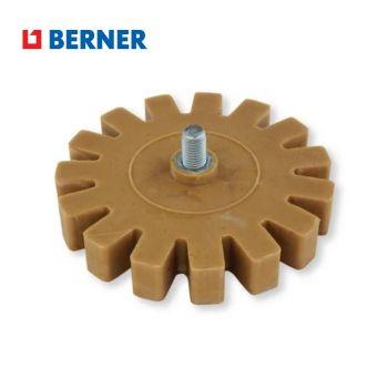 Zúbkovaný kotúč gumový na odstránenie lepidla 90 mm