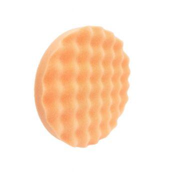 Leštiaci kotúč oranžový/ stredný profilovaný 125 mm