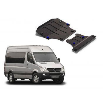 Mercedes Benz Sprinter NCV do 2013 Ochranný kryt motora a prevodovky RIVAL
