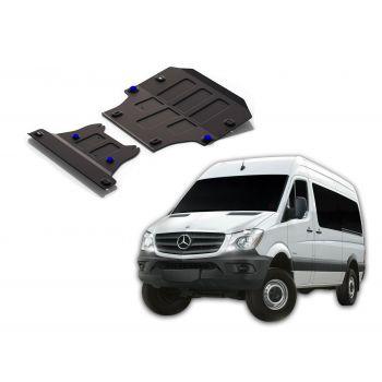 Mercedes Benz Sprinter NCV od 2013 Ochranný kryt motora a prevodovky RIVAL