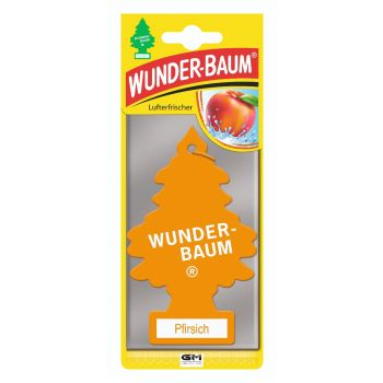 Pfirsich - osviežovač vzduchu WUNDER-BAUM