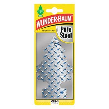 Pure Steel - osviežovač vzduchu WUNDER-BAUM