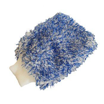 Rukavica z mikrovlákna modrá